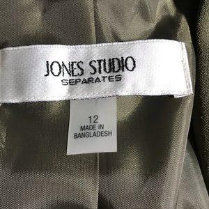 Jones Studio Jackets & Coats - Jones Studio Sage Green Colored Blazer
